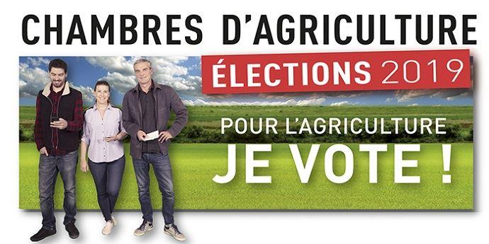 Visuel de la chambre d'agriculture d'Ille-et-Vilaine pour les élections des chambres d'agriculture 2019.