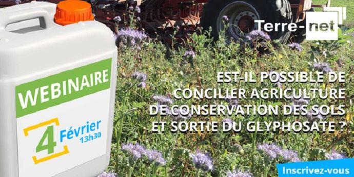 Est-il possible de concilier agriculture de conservation des sols et sortie du glyphosate?