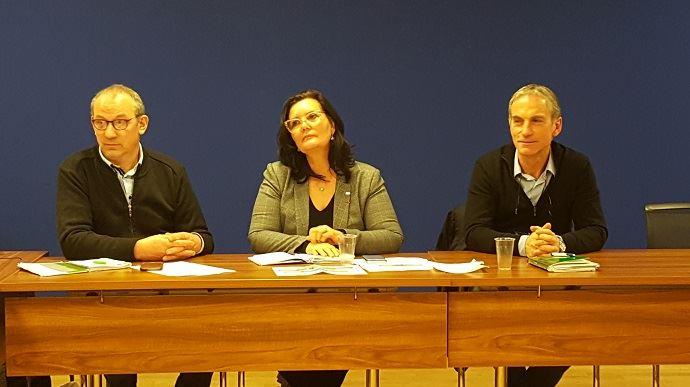 Mercredi 23 janvier 2019, André Bonnard, Marie-Thérèse Bonneau et Thierry Roquefeuil, respectivement secrétaire général, vice-présidente et président de la FNPL, ont défendu l'application,