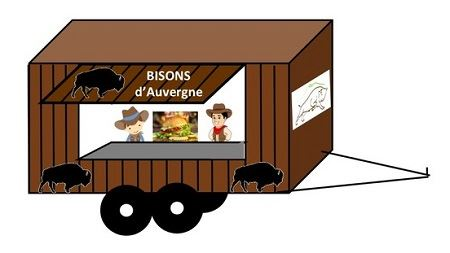 remorque a burgers les bisons d auvergne
