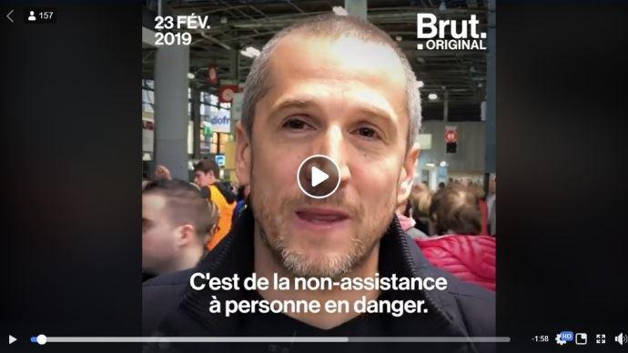 Guillaume Canet au Salon de l'agriculture interviewé par Brut
