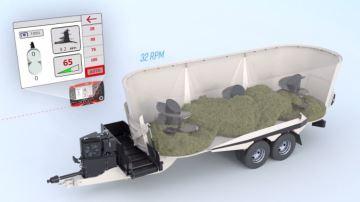 Kuhn installe une transmission CVT pour limiter la consommation du tracteur