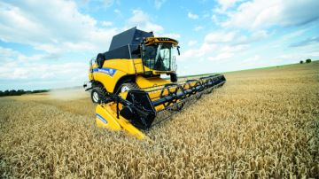 Moissonneuse Conventionnelle Des Options Supplementaires Sur La Gamme CX De New Holland