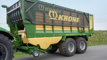 Plus de confort sur la gamme ZX de Krone