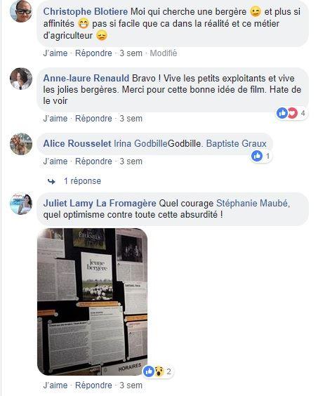posts facebook film jeune bergere