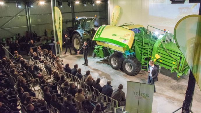 Agriforce inaugure sa base dédiée à Krone.