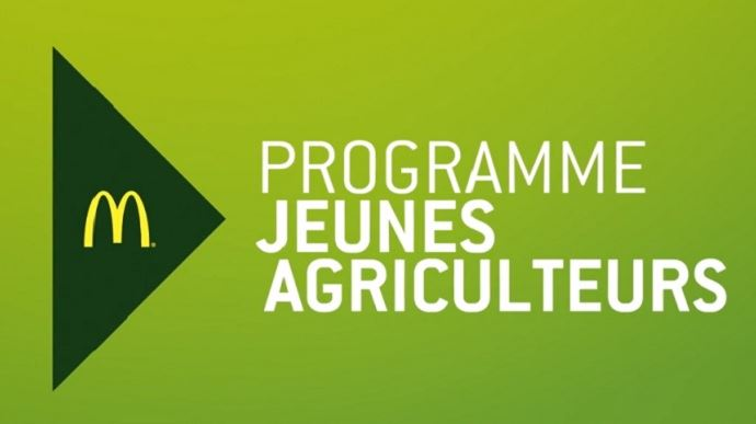 programme jeunes agriculteurs de McDo