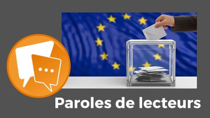 paroles de lecteurs terre net elections europennes