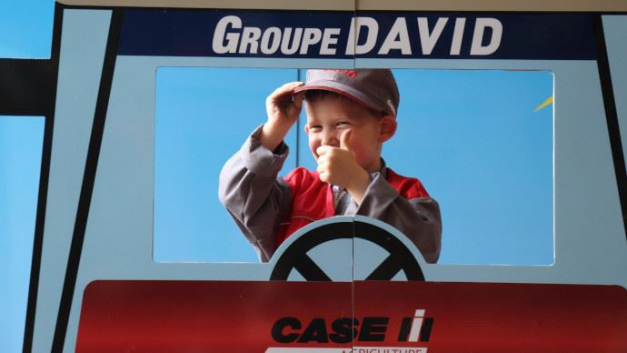 Groupe David concessions Case IH