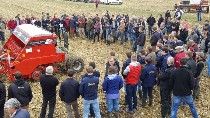 La conjoncture porte le marché du machinisme agricole qui reprends des couelurs