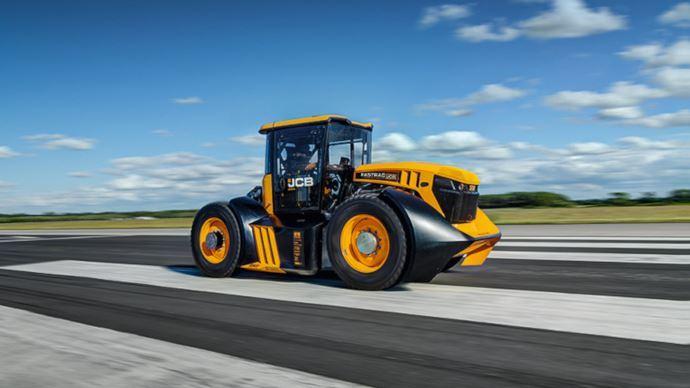 Record du monde de vitesse tracteur