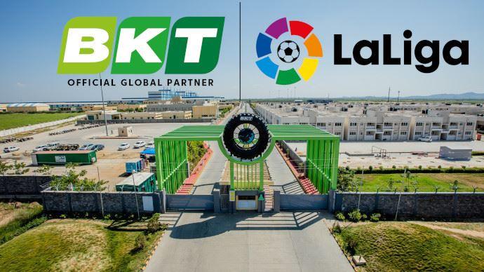 BKT sponsor officiel de LaLiga