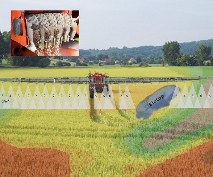 MultiRate Dosing System du constructeur RAUCH Landmaschinenfabrik GmbH