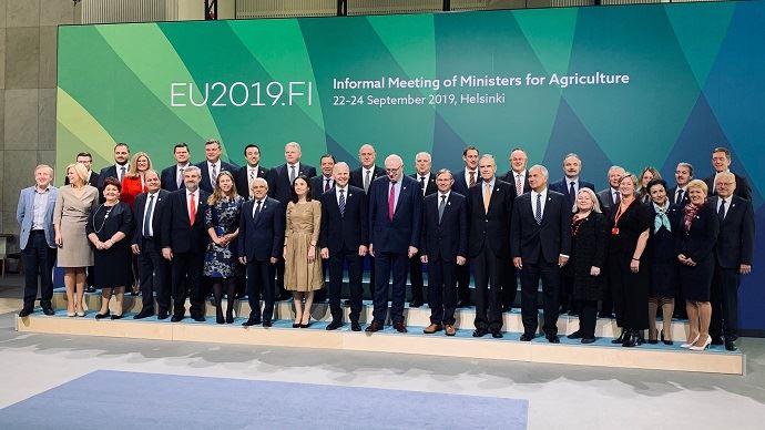 Réunion ministres européens de l'agriculture