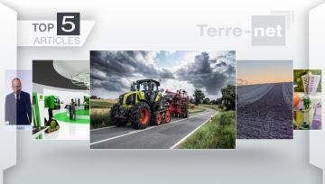 À la Une: l'agriculture du futur par John Deere et l'Axion 900 Terra Trac