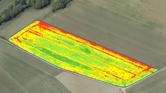 Cartographie biomasse sortie d'hiver