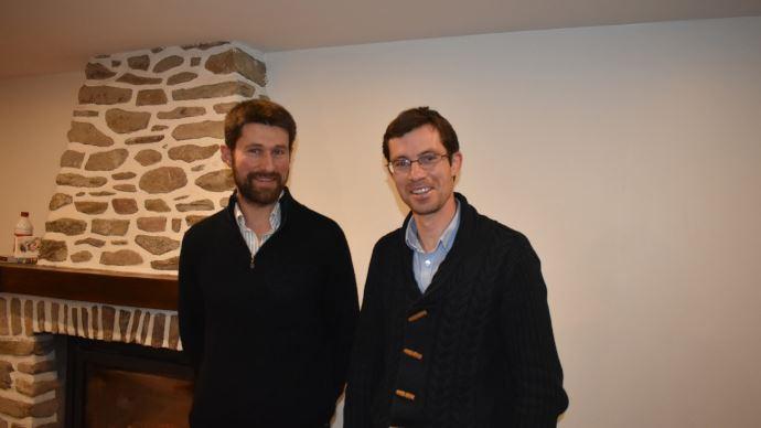 Olivier Leroux et Vincent Picot