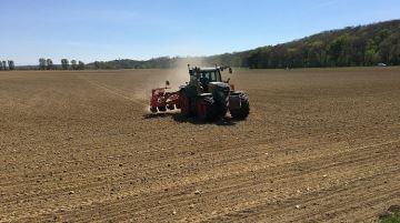 54% des agriculteurs n'avaient pas débuté leur semis la semaine dernière