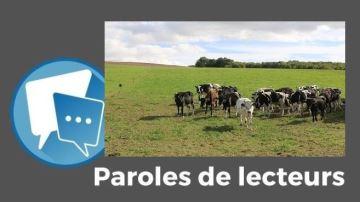 Selon vous, réduire la production bovine n'est ni inévitable... ni durable