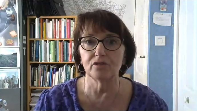 Dans une vidéo diffusée le 10 avril, la présidente de la FNSEA demande des lesures d'accompagnement pour les productions en difficulté à cause du Covid-19