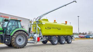 Fliegl optimise la logistique grâce à sa citerne de transfert HFW 29000