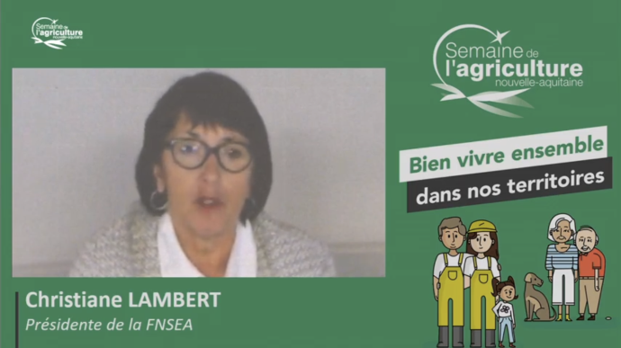 Christiane Lambert prône le dialogue pour reconnecter agriculteurs et citadins