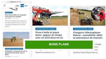 Avez-vous vu les bons plans de Web-agri?