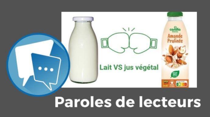 paroles de lecteurs web-agri lait vegetal candia