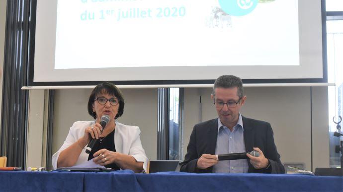 Christiane Lambert et Jérôme Despey ont respectivement été réélus présidente et secrétaire général de la FNSEA, le 1er juillet