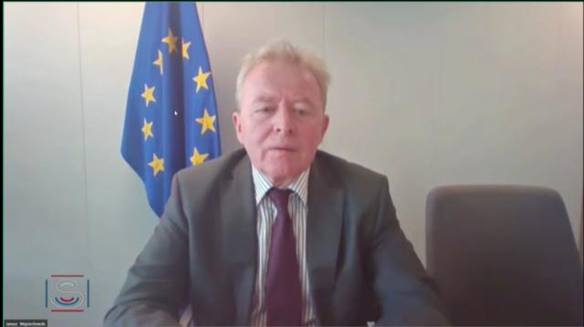 Le commissaire européen à l'agriculture, Janusz Wojciechowski, s'est exprimé devant le Sénat français le 2 juillet