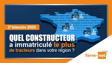 Terre-net publie les parts de marché trateurs régionales du deuxième trimestre