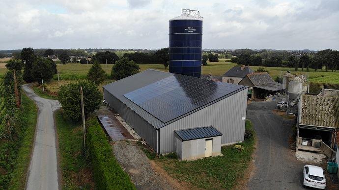 Installation photovoltaïque en Bretagne