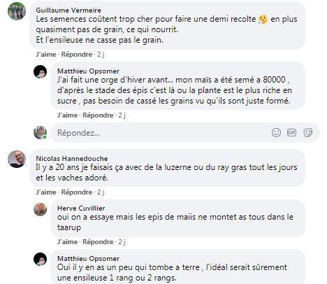 post facebook mais en derobe distribue en vert au taarup