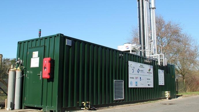 Bio up: épuration du biogaz pour la méthanisation agricole