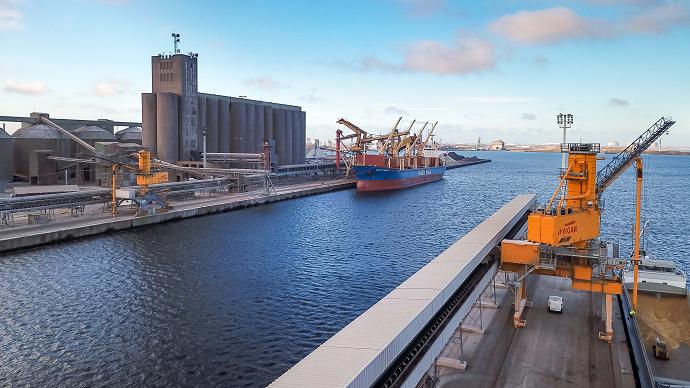 silos portuaires cereales