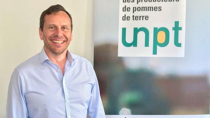 Geoffroy d'Evry, producteur dans l'Oise, est président de l'UNPT depuis fin juin 2020.