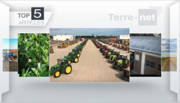 Ventes aux enchères de matériel agricole et réforme de la Pac en Une