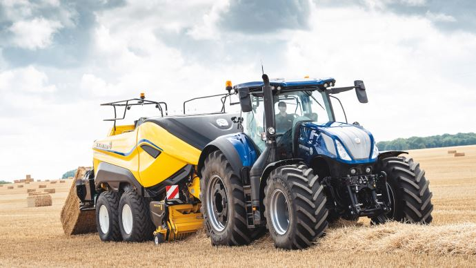 Presse cubique New Holland 1290 HD