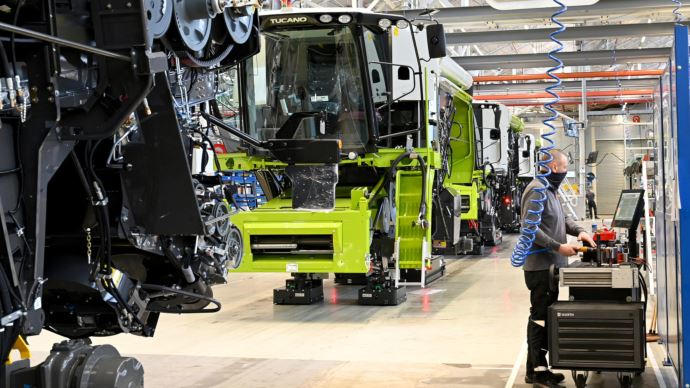 Usine Claas Harsewinkel