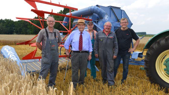 Helmut Claas, agriculteur en Grande-Bretagne