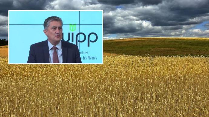 Bruno Baranne, président de l'UIPP, a dévoilé la feuille de route de l'organisation à horizon 2030, le 20 janvier.