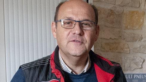 Stéphane Limousin, polyculteur à Neuvy-Pailloux (Indre)