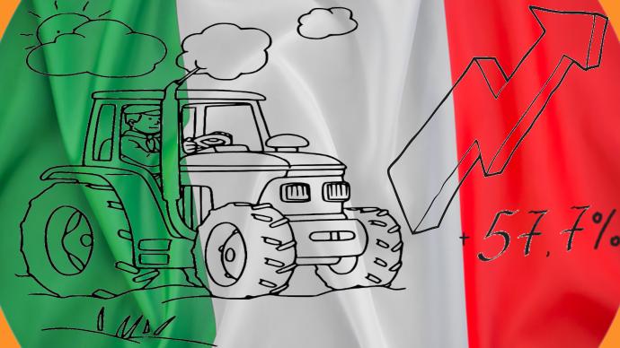 Des ventes records de matériel agricole au premier trimestre 2021 en Italie