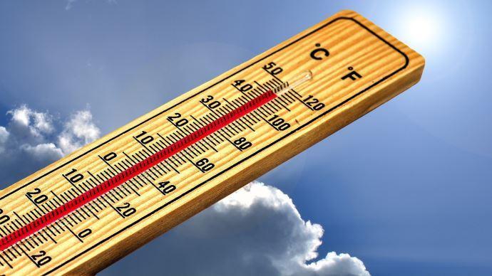 thermometre mercure autour de 40 degres
