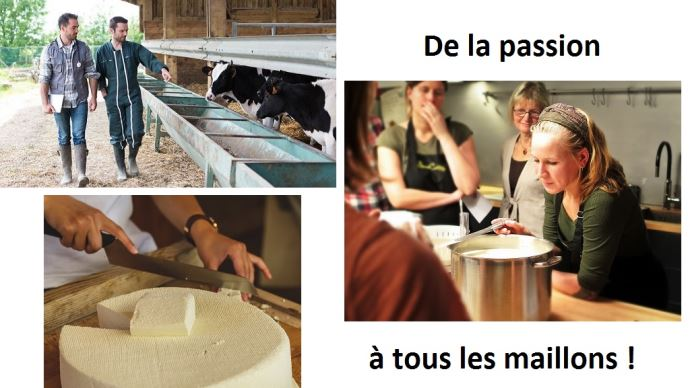 jeunes eleveurs cremiers fromagers