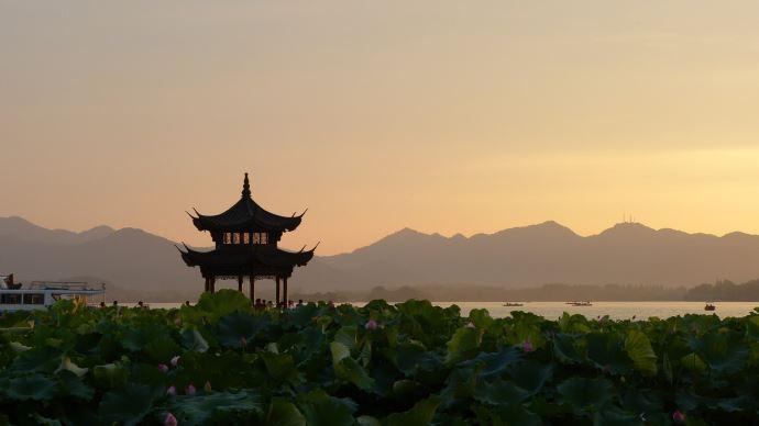 Paysage en Chine