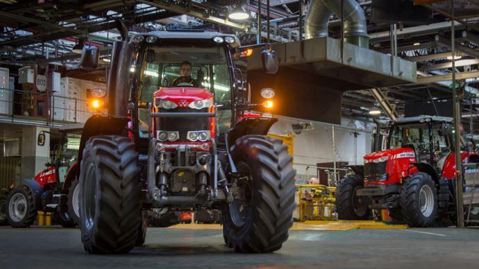L'usine Massey Ferguson de Beauvais sera la référence pour le groupe à l'échelle mondiale.