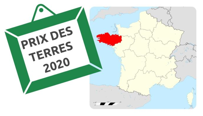 A 5960€ l'hectare libre, le prix des terres en Bretagne a peu évolué en 2020.