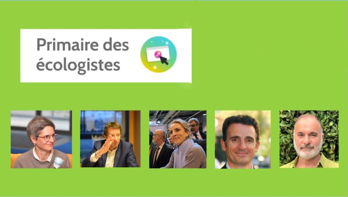 Le premier tour de la primaire des écologistes aura lieur du 16 au 19 septembre.
