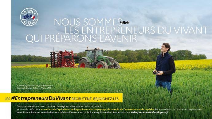 campagne de communication entrepreneurs du vivant ministere del agriculture